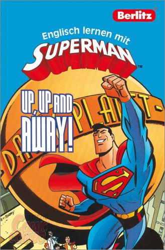 buch englisch lernen mit superman up up and away comic combo leipzig. Black Bedroom Furniture Sets. Home Design Ideas