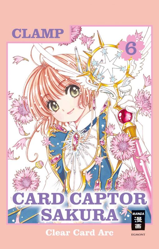 Egmont Manga Manga: Card Captor Sakura - Clear Card Arc 6 ...