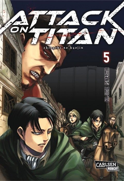 Attack On Titan Deutsch Manga