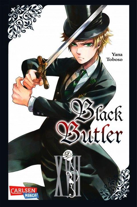Carlsen manga manga black butler 17 comic combo leipzig for Butlers leipzig