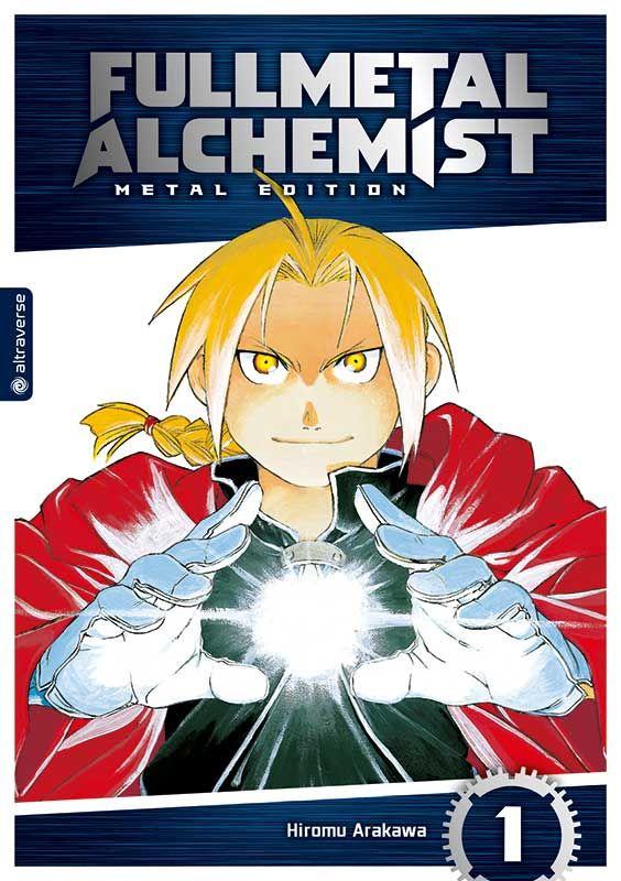 Altraverse Manga: Fullmetal Alchemist 1 [Metal Edition ...