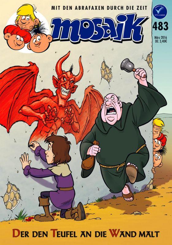 Steinchen Für Steinchen Comic Mosaik 483 Der Den Teufel An Die