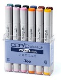 Set: COPIC Sketch Marker 12er Set