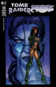 Gamix  2 Tomb Raider/Witchblade (Cover-Version A) - Zustand 1-2