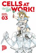 Manga: Cells at Work  3