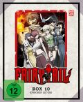 DVD: Fairy Tail - TV-Serie Box 10 [Blu-Ray]