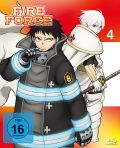 DVD: Fire Force  4 [Blu-Ray]