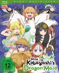 DVD: Miss Kobayashi's Dragon Maid  2 [Blu-Ray]