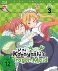 DVD: Miss Kobayashi's Dragon Maid  3 [Blu-Ray]