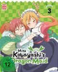 DVD: Miss Kobayashi's Dragon Maid  3