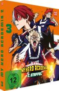 DVD: My Hero Academia - Staffel 2 3 [Blu-Ray]