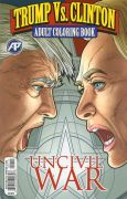 Buch: Trump vs. Clinton Adult Coloring Book